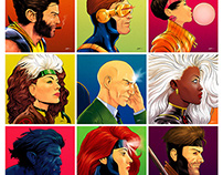 X-Men Portrait Project
