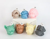Puppy Scented Candles.