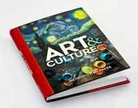 Text Book Jacket Design - Art & Culture