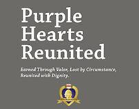 Purple Hearts Reunited Brochure