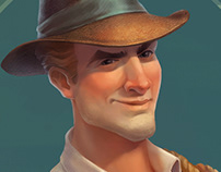 Archeologist character