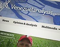 Venezuelaanalysis.com Redesign