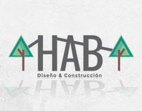 Estudio HAB Diseño y Construcción, Logotipo