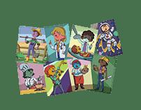 Ilustrações para livros infantis