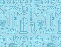 Baseball Pattern