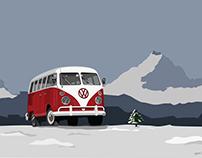RED VWwestfalia 1967
