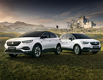 'Every Star Needs Its Extras' Vauxhall Press campaign