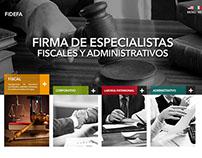 PROPUESTA SITIO WEB | FIDEFA
