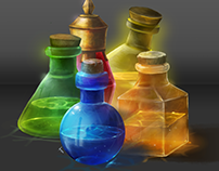 Potion Collection (Concept Art)
