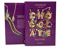 Charlie and the Chocolate Factory book jacket