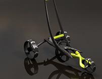 Design prospectif | Chariot de golf