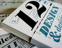 The 2011 Design and Designers Letterpress Calendar