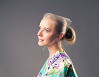 Matryoshka dress and cloak