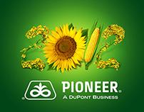 Pioneer. Corporate calendar design 2012.