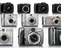 Canon | Brochures & Microsites