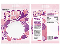 Melly Jelly Package design ideas