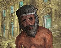 Beggar | Illustration
