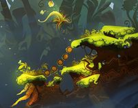 Jungle environment concept
