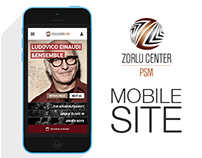 Zorlu Center PSM - Mobil Site