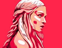 Daenerys Targaryen. Khaleesi