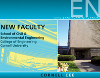 'New Faculty' at Cornell Post Card