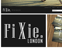 The Fixie Stop brand identity