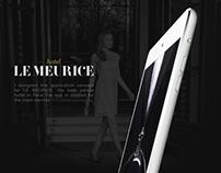 Meurice App