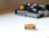Lego Back To The Future Build