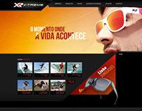 Lançamento do novo site XR X-Treme