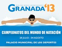 Cartel Campeonatos del Mundo de Natación 2013