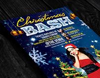 Christmas Bash | Flyers + FB Cover