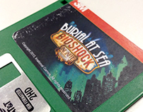 Packaging: Burial At Sea Floppy Disk