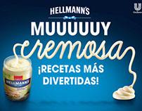 HELLMANN'S Muy Cremosa