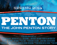 Penton - The John Penton Story identity and branding