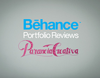 PARANOIA CREATIVA  ·  BEHANCE PORTFOLIO REVIEW