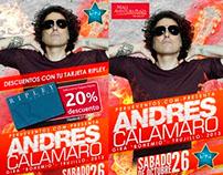 ANDRES CALAMARO / Design