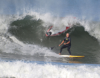 Freestyle surfers and SUP riders, 27 October 2013