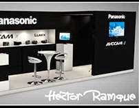 Stand Design 6x2 Panasonic for Expo AMPESAV 2013