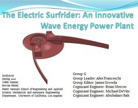 The Electric Surfrider: A Wave Energy Power Plant