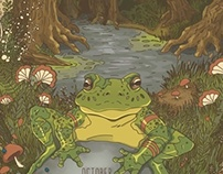 Fictional Gig Poster: Swamp Frog