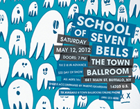 Gig Poster: School Of Seven Bells