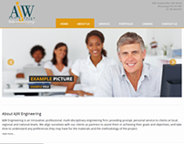 AJW Engineering Web Site Design