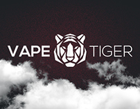 VAPE TIGER - Web design
