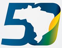 Selo 50 anos de Gedore no Brasil