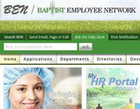 Baptist Employee Network Intranet Portal