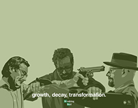 Breaking Bad: Growth, Decay, Transformation.
