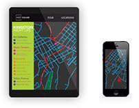 Kingston Map Design