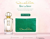 Live in Love | Oscar de la Renta