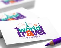 World Travel • Logo & Stationery