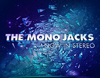 The Mono Jacks - Now in Stereo (album cover, pitch)